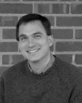 Tony Noland 2011-12 Smiling grayscale 8 x 10