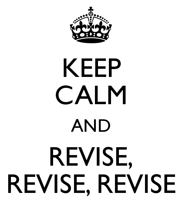 The Only Way Revision Works (For Me) – Today's Author
